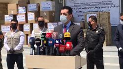 المانيا تزود اقليم كوردستان بدفعة ثالثة من المعدات الطبية لمواجهة كورونا