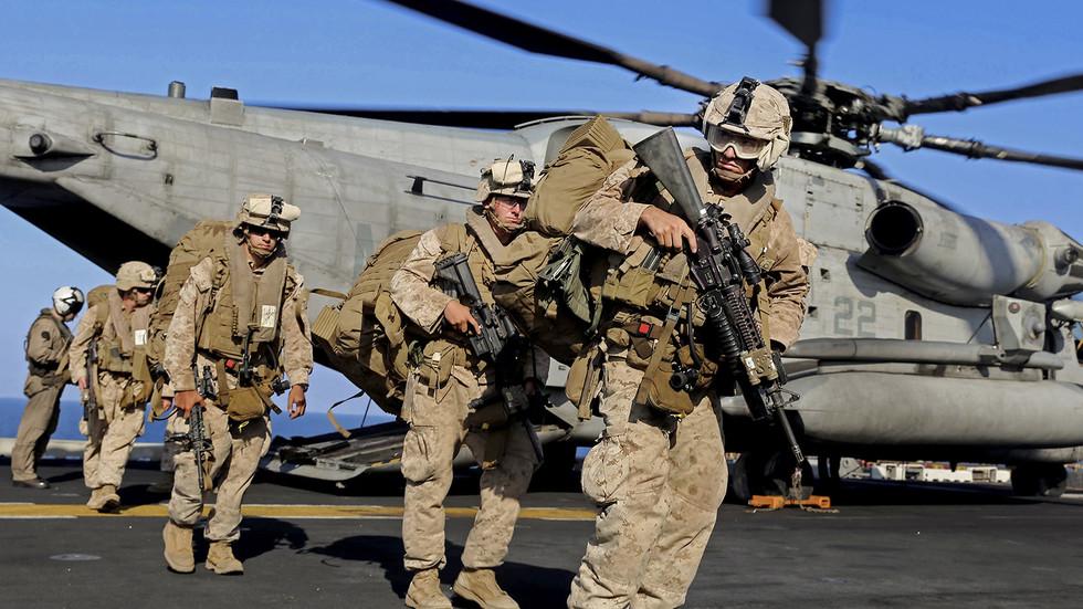بريطانيا جندت اطفالا للقتال في العراق وافغانستان