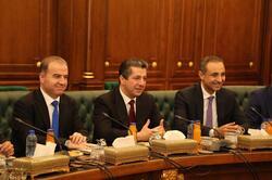 مسرور بارزاني يسلم اليوم تشكيلته الحكومية الى البرلمان