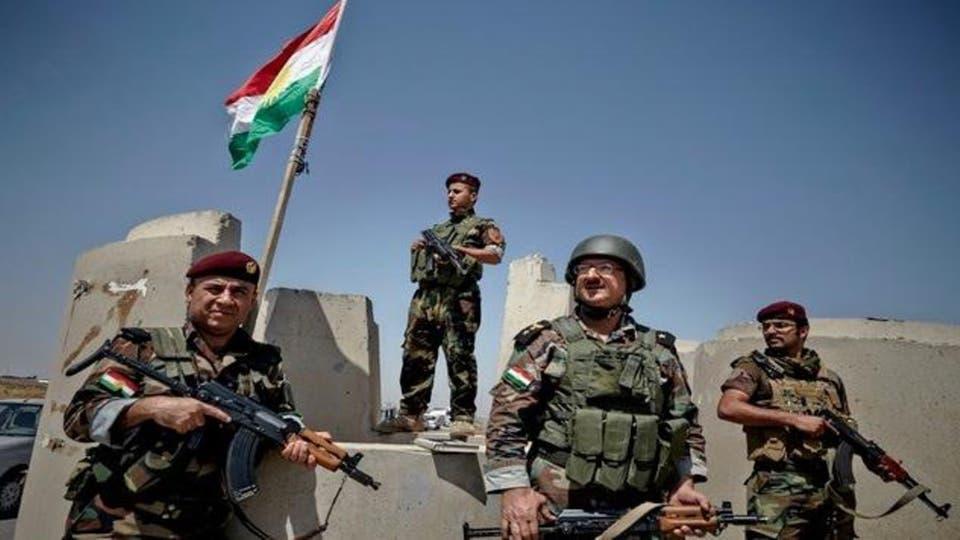 البيشمركة وقوة عراقية تتحركان عسكريا على مواقع لداعش قرب خانقين