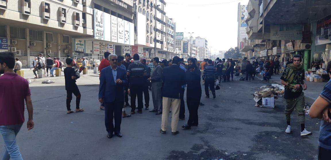 عقب مقتل واصابة العشرات المحتجون والامن يتوصلون لإتفاق في خلاني بغداد