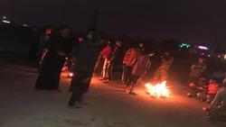 محتجون يغلقون منفذاً جنوبي العراق