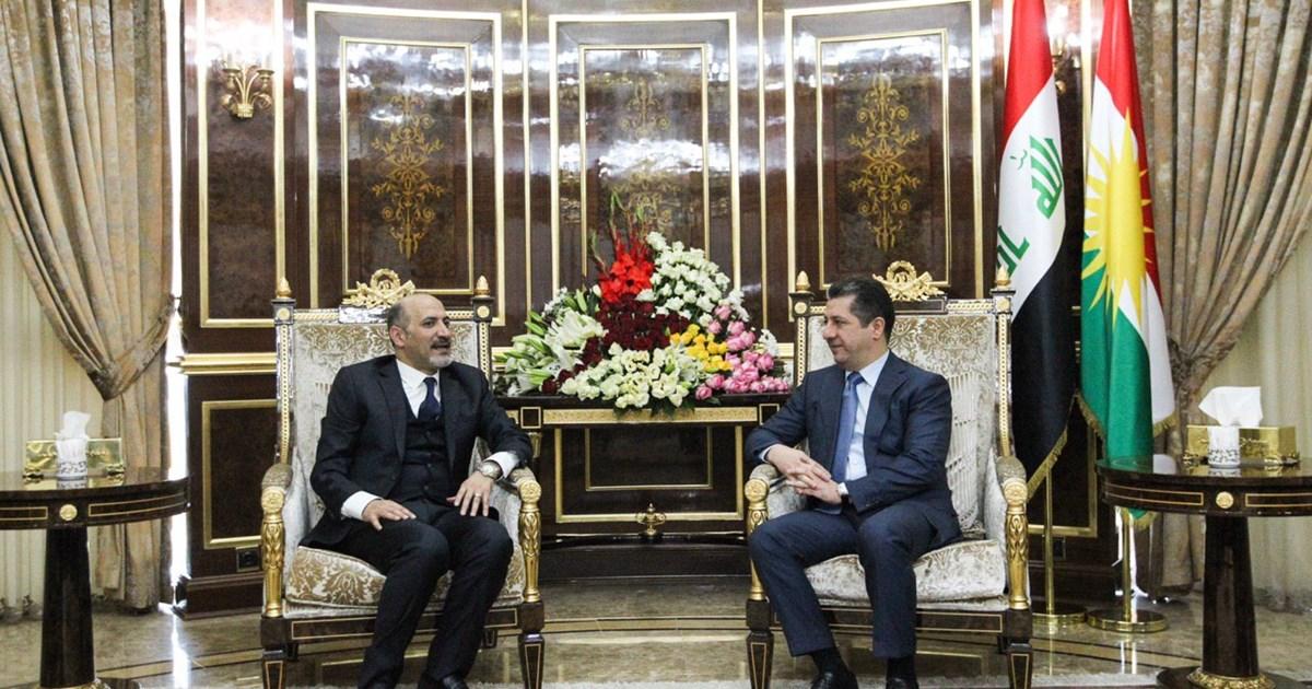 مسرور بارزاني يبلغ وفداً سورياً رفضه العنف والحرب لحل النزاعات
