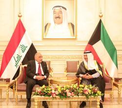 عبدالمهدي يبدأ جولته الخليجية بمباحثات في الكويت