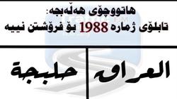 حلبجة تخاطب وزارة الداخلية بعدم منح الرقم 1988 لأي عجلة