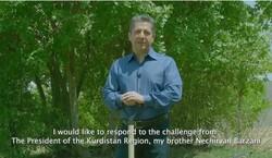 مسرور بارزاني يستجيب لتحدي رئيس الاقليم ويشارك في حملة زراعة شجرة
