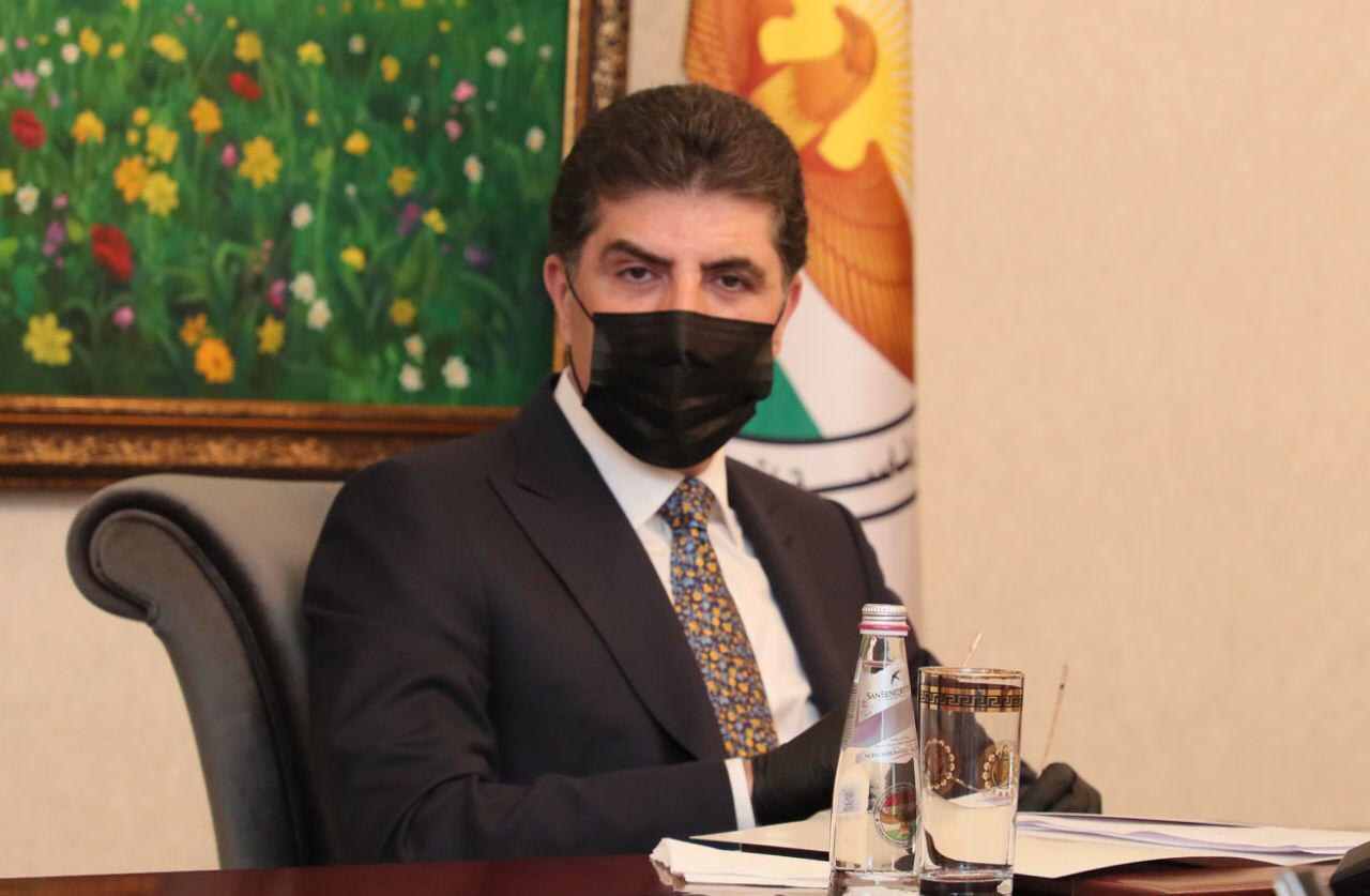 رئيس كوردستان يشيد باجراءات حكومة الاقليم وجهود الصحة الخاصة بكورونا