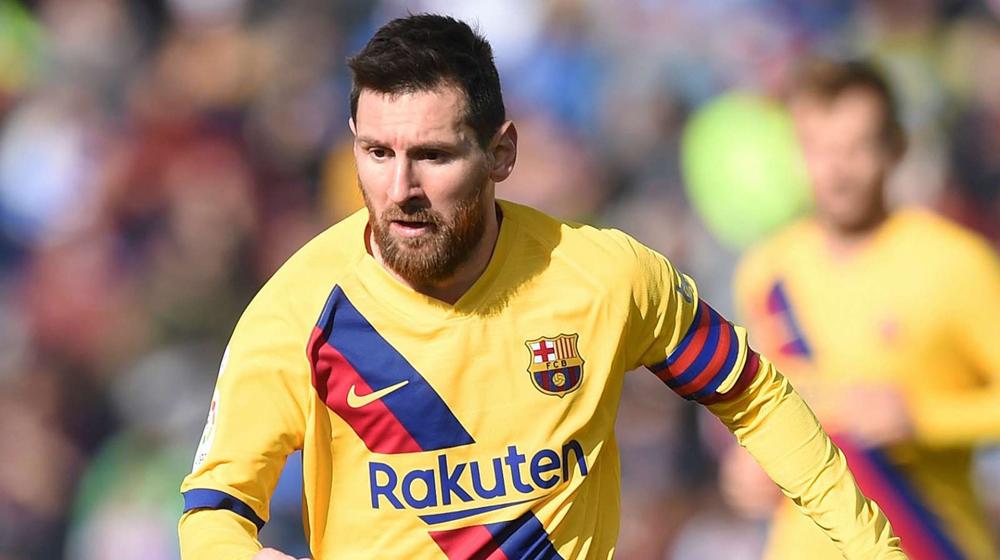 ميسي يمنح برشلونة فوزاً صعباً بعد نكسة الكلاسيكو