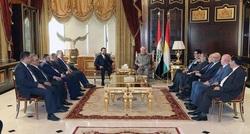 بارزاني والحلبوسي يطرحان نقاطا تخص حكومة علاوي ووضع العراق