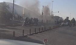 صدامات بين متظاهرين وقوات امنية تحاول فتح تقاطع محوري في الناصرية
