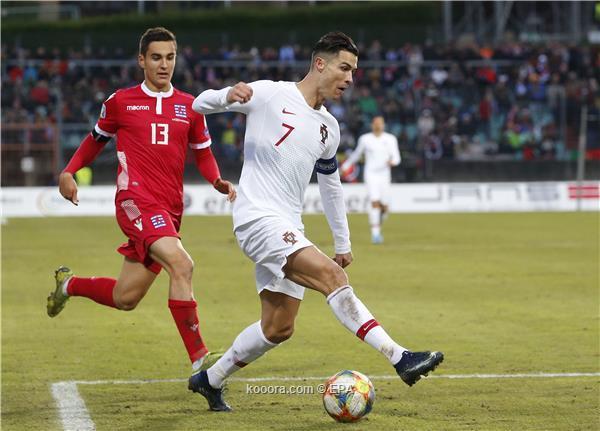 رونالدو يصعد بالبرتغال ليورو 2020