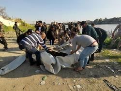 انتشال جثة لحادثة العبارة في الموصل والاعتداء على شرطي مرور بالديوانية
