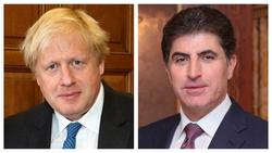 نيجيرفان بارزاني في رسالة لجونسن: نأمل استمرار الدعم البريطاني لكوردستان المستقرة