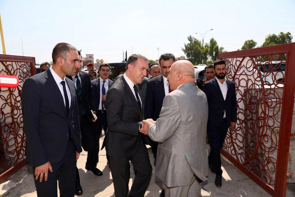 """تركيا تعلن رؤية """"حازمة"""" لاعمار الموصل: مدينة صناعية وطرق برية تمتد للحدود"""
