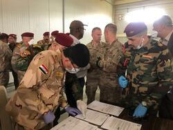 التحالف الدولي يغادر قاعدة كركوك الجوية ويسلم المعدات الى القوات العراقية